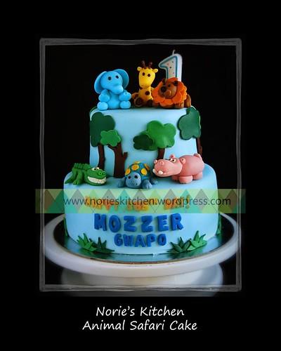 Norie's Kitchen - Animal Safari