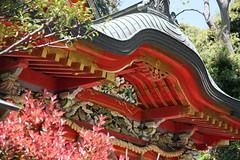 江の島めぐり―中津宮(Nakatsumiya shrine, Enoshima, 2011)