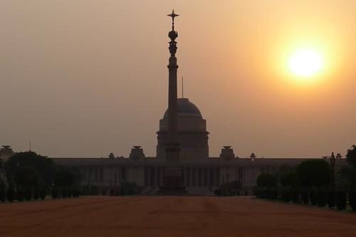 Rashtrapathi Bhavan - presidential palace