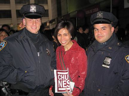 NYPD for Chuvaness