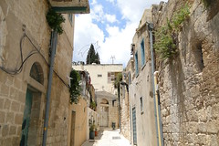 Street Scene with 18th-Century Greek Orthodox Church in Nazareth by Adam Jones, Ph.D., on Flickr