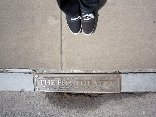 The Fox Theatre and My Keds Atlanta GA