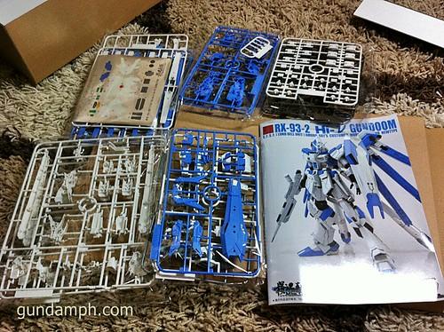 Building MC RX-93-2 Hi Nu Gundoom Gundam (2)