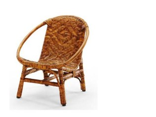 bohemian kids rattan chair