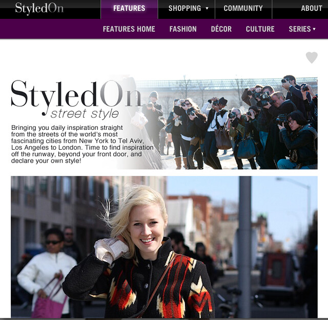 PRESS: Styled On Street Style #1