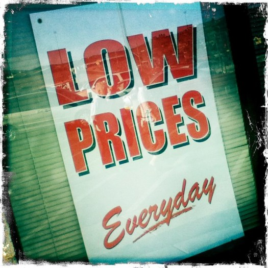 low prices everyday