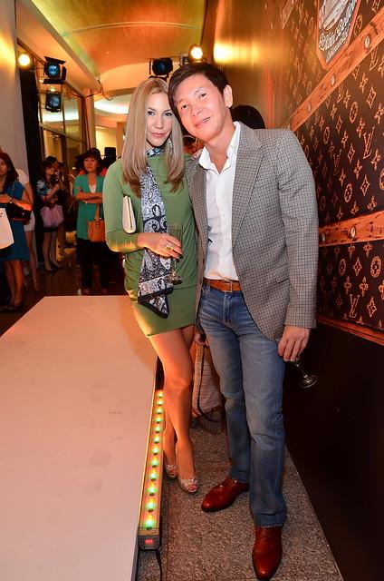 Sarah Azimi and Richard Tiu