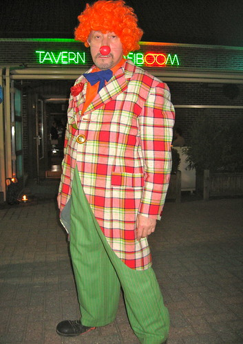 een treurige clown