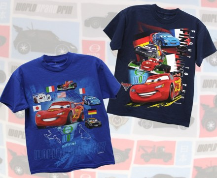 'Cars 2' Youth Shirts for Disney Parks