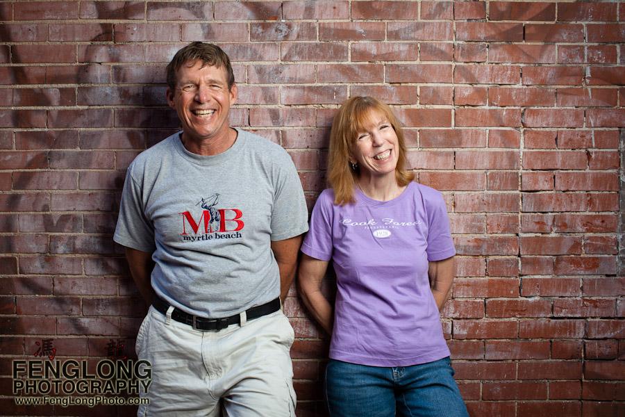 Mark & Janet Portrait Session | Downtown Atlanta | Atlanta Wedding Photographer