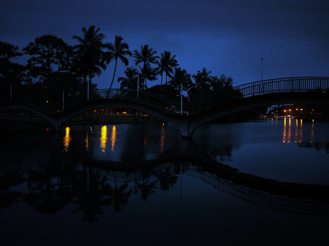 Wailoa River at Dusk