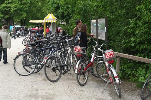 Bikes in Munich