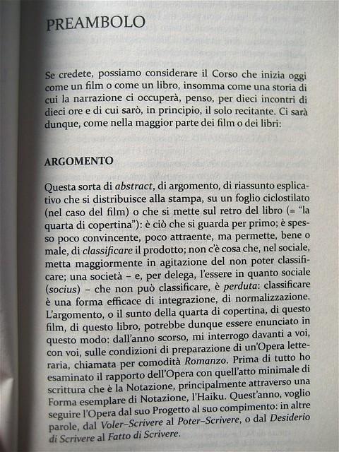 Roland Barthes, La preparazione del romanzo; corsi (I e II) e seminari al Collège de France, Mimesis 2010: 2 voll.; Cover design Mimesis Communication; p. 219, vol. II (part.), 1