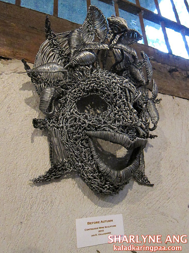 Coiled Wire Sculpture - Silay City