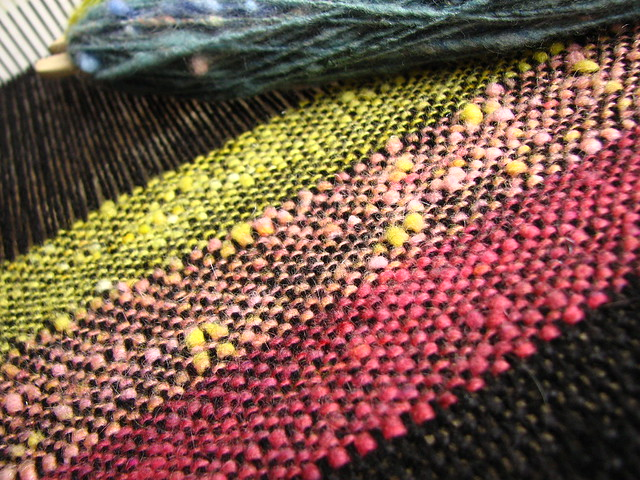 Weaving on the Cricket Loom