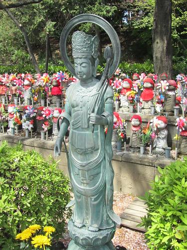 Buddha & Jizo at Zojyoji