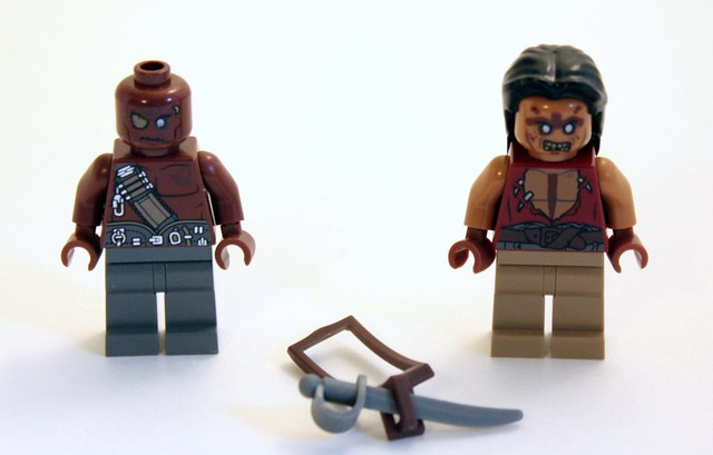 If you buy all the sets, you will have several of these guys. Seriously.