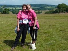 Helena and Sue, Pink Walk 2011
