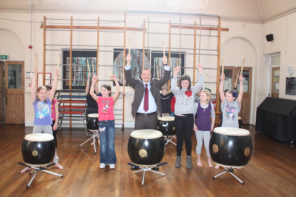 Linthwaite Clough School - Taiko Drums