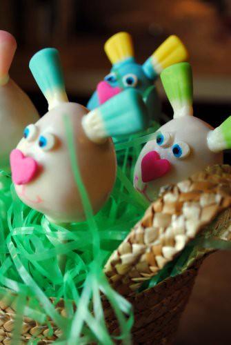 Easter Bunny Cake Pops