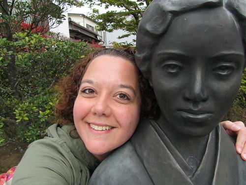 Haiku girls (me & Takajo Mitsuhashi)