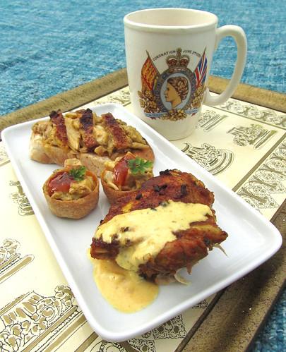 Coronation Chicken 3 ways