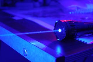 1.2W Class 4 Very High Power Blue Laser, Dark ...