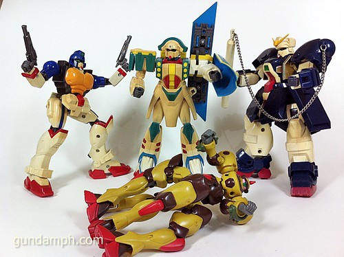 Old G-Series Gundams 1994 (2)