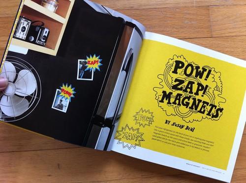 POW! ZAP! Magnets