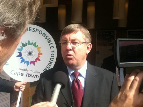 Minister of Tourism, Marthinus van Schalkwyk @ Indaba 05.2011
