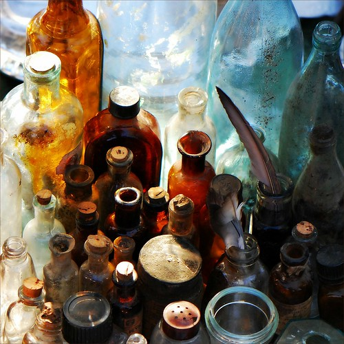The bottles of yesteryear by jurek d.