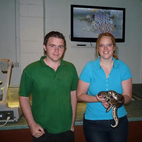 Helena with snake 2