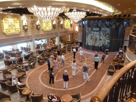 Queens Room on Cunard Queen Elizabeth Cruise Ship
