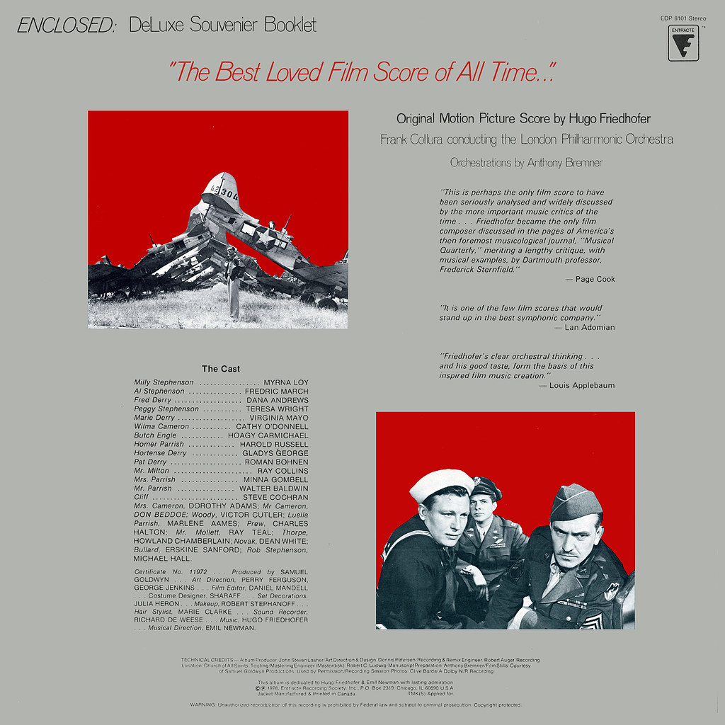 Hugo Friedhofer - The Best Years of Our Lives