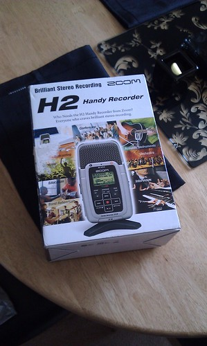 Zoom H2 fresh from delivery