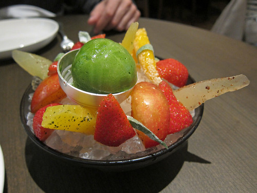 Fruta Cru with Basil Sorbet