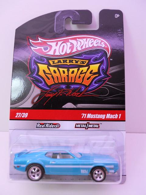 hot wheels larrys garage '71 mustang mch 1 (1)