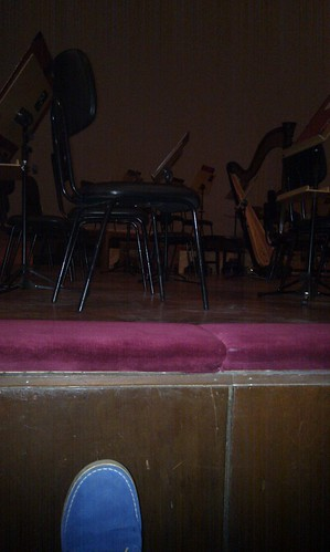 Front row at the theatre