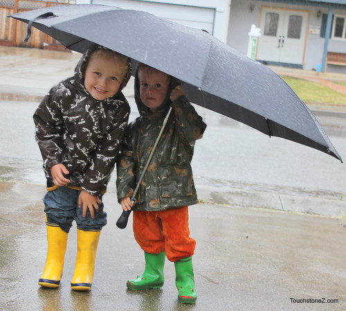 Letters to Littles: Singing in the Rain