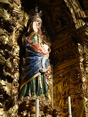 Evora Cathedral - Virgin Mary with child