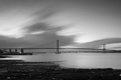 Forth Road Bridge Long Exposure