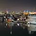 Crescent Marina, Kuwait City, by Night