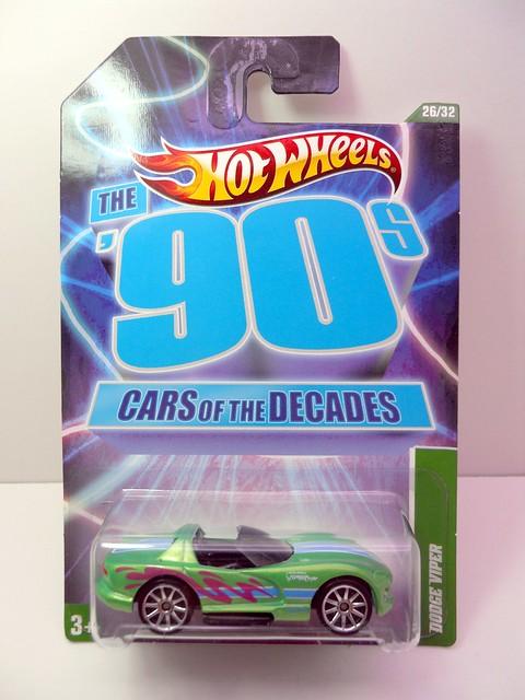hot wheels cars of the decade dodge viper (1)