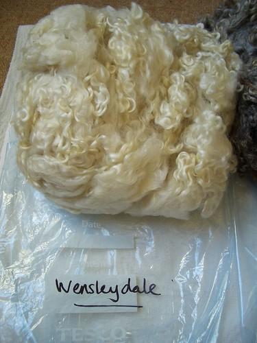 Wensleydale Fleece