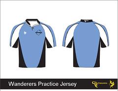 Wanderers Practice Jersey