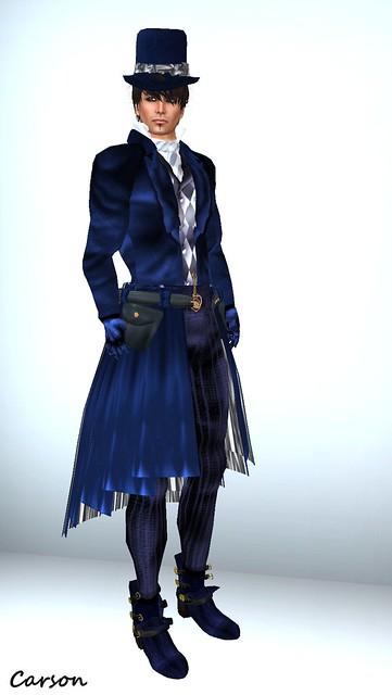 Avatar Bizarre  - Carriage Runner Suit Blue