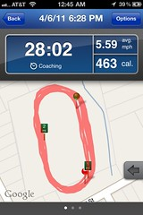 RunKeeper, Session 1, Screen 1