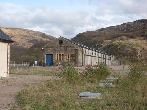 Stèisean Cumhachd Cheann Loch Lìobhann