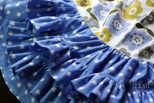 Ruffles on Her Birthday Dress