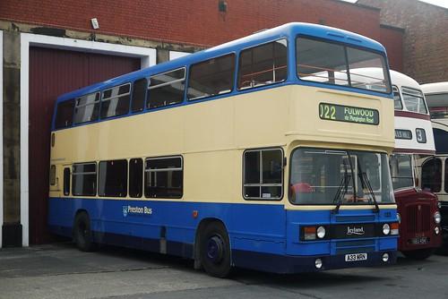 PrestonBus Leyland Olympian ONTL11/2R, ECW body, A33 MRN